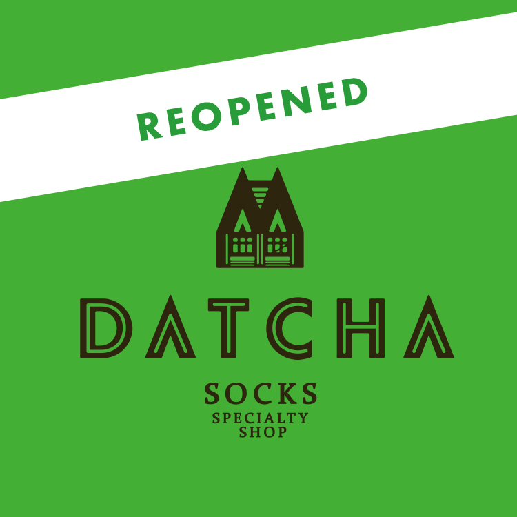 DATCHA 営業再開のお知らせ