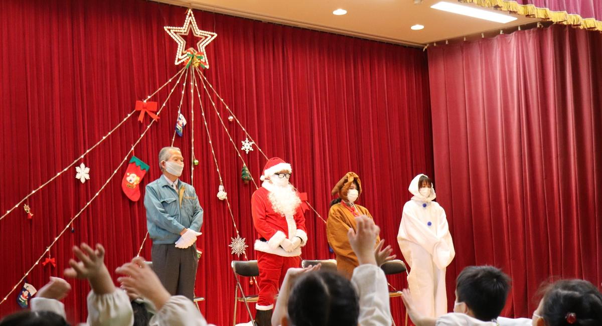 いずみ幼稚園様のクリスマス会に参加してきました!